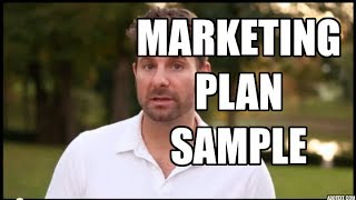 Sample Marketing Plan - 5 easy steps for any market society